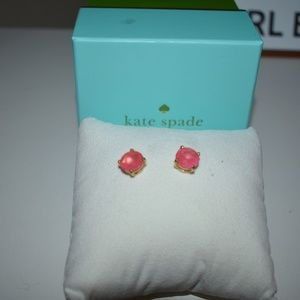 Kate Spade Pink Stud Earrings